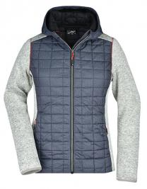 Ladies' Knitted Hybrid Jacket