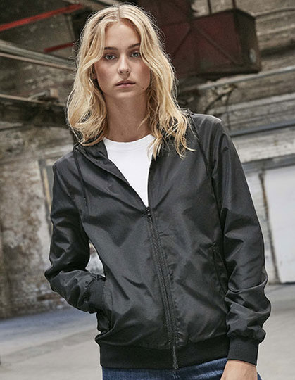 Ladies Recycled Windrunner